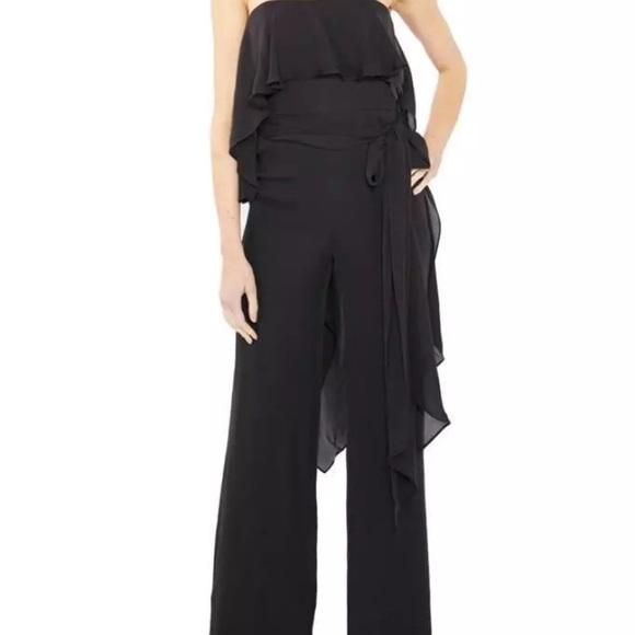 1e3a3c8f5e73 Halston Heritage Pants - Halston Heritage Black 2 Strapless Pant Jumpsuit